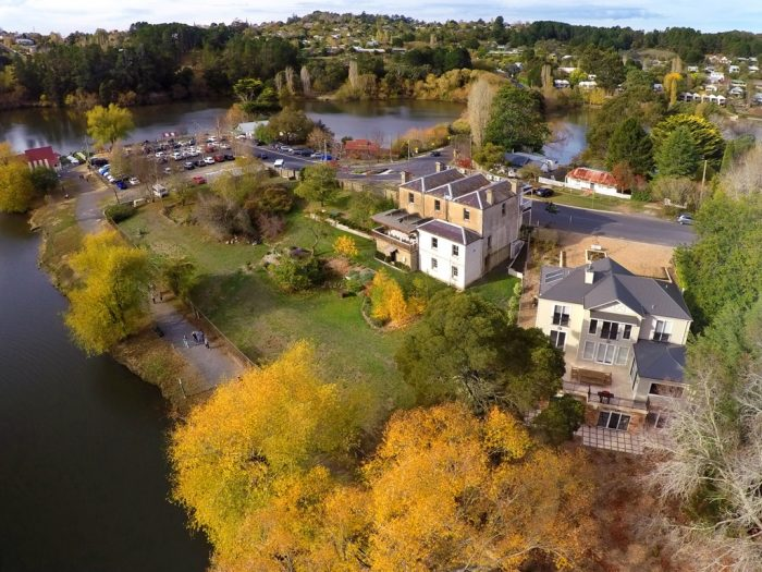 Lake Daylesford Aerial Photography